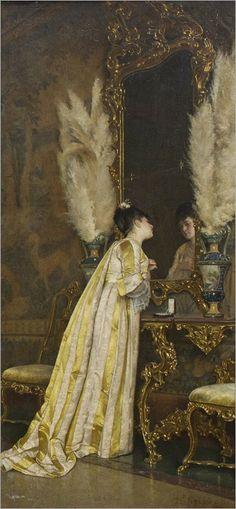 Achille Glisenti (1848-1906) - coqueteria
