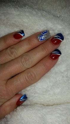 New England Patriots Nails!
