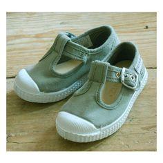 Fitzkitz schoenen katoen/linnen cemento