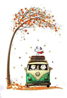 It is Snoopy like autumn. In November, or even dead trees . - It is Snoopy like autumn. November, or even dead trees. Peanuts Gang, Peanuts Cartoon, Snoopy Wallpaper, Fall Wallpaper, Iphone Wallpaper, Halloween Wallpaper, Snoopy Et Woodstock, Charlie Brown Und Snoopy, Happy Halloween Banner