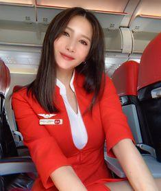 Air Hostess Dress, Flight Girls, Indonesian Women, Flight Attendant, Airline Attendant, Myanmar Women, Hot Cheerleaders, Photography Poses Women, Rock Outfits