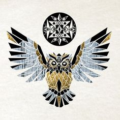 noch eine unserer ideen für einen eulen tattoo   hier ist eine gelbe goldene fliegende eule