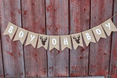 Find out about Woodland Child Bathe Decor, Boy Oh Boy Deer Stag Antlers Banenr, Child Boy Banner Bunting, Burlap Garland, Being pregnant Photograph Prop Oh Boy Banner