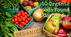 50 Healthy Foods Found at Costco for CHEAP! - The Paleo Mama  @Danielle Culbertson-Kizziar @Brittany Ayers