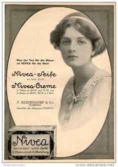 Original-Werbung/Inserat/ Anzeige 1912 - 1/1 SEITE : NIVEA SEIFE/CREME ca. 180 x 260  mm