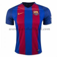 La Liga Fussball Trikots Barcelona 2016-17 Heimtrikot Kurzarm