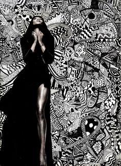 Art I: Zentangles Collage