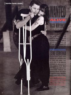 Viggo Mortensen and Exene Cervenka