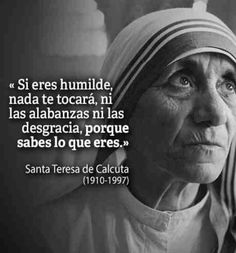 Catholic Prayers, Catholic Saints, Quotes En Espanol, Saint Quotes, Inspirational Phrases, Mother Teresa, Precious Moments, Spiritual Quotes, Gods Love