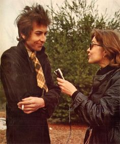 "i love this interview…..and when he says ""the tie…"" - Bob Dylan – Tartan Tie, 1966"