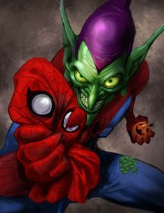 The Green Goblin, by Edward Pun.