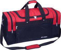 Everest - Large Sports #Duffel - Red /Black