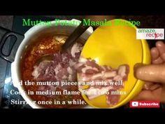 Indian Style Mutton Potato Masala Recipe.Lets try :) https://goo.gl/MvUDDi Video:https://goo.gl/d9SUy6 YouTube Video: https://youtu.be/Y4995HbfqHg Read Step by step:: https://goo.gl/MvUDDi Like & Share @ http://www.amazerecipe.com