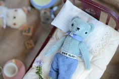 PDC classic BEAR //////// ////// from the POLKA DOT CLUB