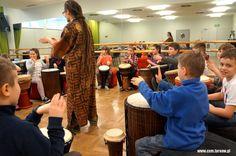 #warsztaty Afrykańska Przygoda Stasia i Nel #bonkultury #workshops #tarnow #bębny #afryka #drums #dladzieci