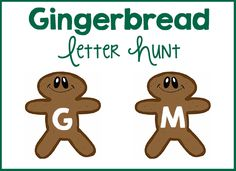 Gingerbread Letter Hunt