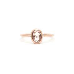 Morganite rose gold ring | Dear Rae | Commission  #DearRae #DearRaeJewellery #EngagementRing #Morganite Bohemian Jewelry, Modern Jewelry, Metal Jewelry, Jewlery, Minimalist Wedding Rings, Minimalist Jewelry, Rose Gold Morganite Ring, Wedding Rings Rose Gold, Pretty Clothes