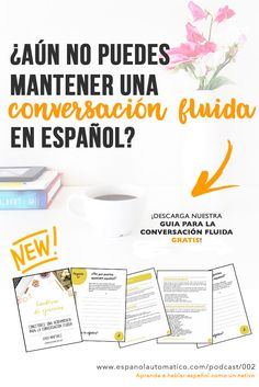 ¿Aún no puedes mantener una conversación fluida en español? Descarga nuestro FREEBIE! ✿ Spanish Learning∕ Teaching Spanish ∕ Spanish Language ∕ Spanish vocabulary ∕ Spoken Spanish ∕ More fun Spanish Resources at http:∕∕espanolautomatico.com ✿ Share it with people who are serious about learning Spanish!