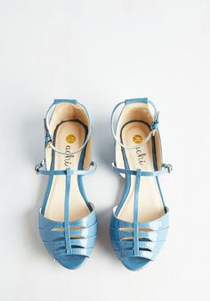 94502e24769ff Shoe Me the Way Flat in Cerulean. Set a new standard for everyday radiance  with