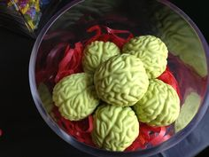 Zombie Party Cake Brains
