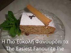 💞💞Η Πιο Εύκολη Φανουρόπιτα 💞 💞 The Easiest Fanourite Pie💞💞 - YouTube Greek Desserts, Greek Recipes, Greek Cooking, Make It Simple, Easy, Greek Food Recipes, Greek Chicken Recipes
