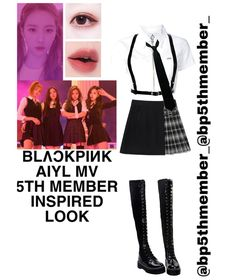 Korean Outfits Kpop, Kpop Fashion Outfits, Stage Outfits, Dance Outfits, Outfits For Teens, Cute Outfits, Ariana Grande Outfits, Bts Clothing, Mode Chanel