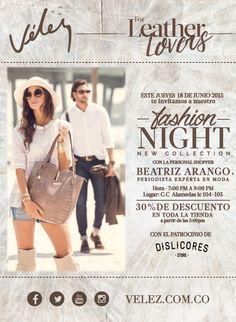 Vélez for Leather Lovers tiene un #evento creado solo para ti! Te esperamos este 18 de Junio! 30% de #descuento en toda la tienda / #Alamedas #SiempreContigo