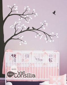 Calcomanías grandes de árbol pared calcomanía por WallConsilia