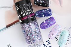 "Maybelline Color Show ""Street Art"" Top Coat in ""02 White Splatter"""