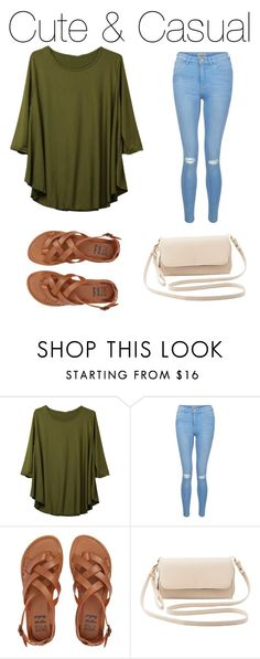 """""""#253"""" by avafields02 ❤ liked on Polyvore featuring New Look, Billabong and Charlotte Russe"""