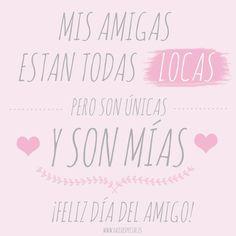 Feliz día del AMIGO! www.hazloespecial.es
