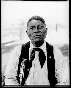 Мужчина Апачей, Сан Карлос, 1900 г.