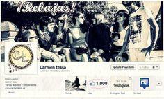 Redes Sociales en carmen tessa. ¡Ya somos 1000! | www.carmentessa.es