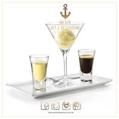 FRANGELICO AFFOGATO Glass: capacity from 5 to 8 oz. (from 15 to 24 cl) INGREDIENTS: 3 scoops ice cream 1 cup espresso coffee oz./ cl/ 1 part Frangelico Pour Frangelico and espresso over ice cream and enjoy. Cocktail Drinks, Cocktail Recipes, Cocktails, Martinis, Alcoholic Beverages, Dessert Bread, Dessert Recipes, Desserts, Drink Recipes