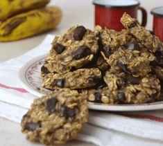 Φτιάξτε μπισκότα βρώμης χωρίς ζάχαρη και βούτυρο — Με Υγεία Best Dessert Recipes, Healthy Recipes, Desserts, Biscotti, No Gluten Diet, Bon Dessert, 1200 Calories, Oatmeal Cookies, Cookies Et Biscuits