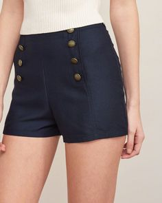 Womens Sailor Shorts