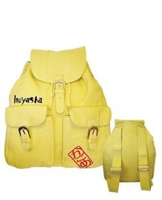 Amazon.com: Inuyasha Kagome Yellow Backpack: Clothing