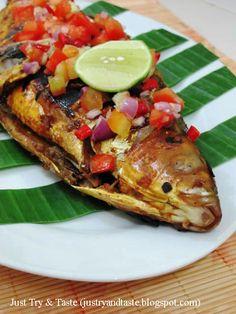 Just Try & Taste: Bandeng Bakar Sambal Dabu-Dabu