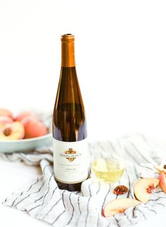 Wine Pairing: Peach Tart & Vintner's Reserve Riesling. This tart is a baker's best friend. It's beautiful, tastes like heaven, and is deceptively easy to cook.