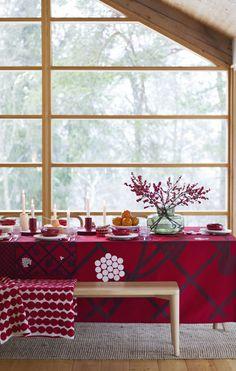 * Marimekko fall-winter 2017 home collection. Exterior Barn Lights, Exterior Patio Doors, Exterior Doors With Glass, Interior Design Inspiration, Home Decor Inspiration, Decor Interior Design, Interior Decorating, Scandinavian Living, Scandinavian Design