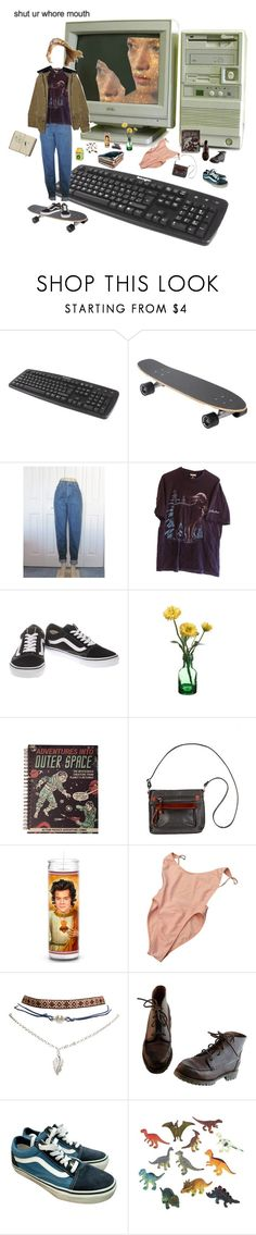 """When I breath in too deep"" by short-skirt-long-jacket ❤ liked on Polyvore featuring Vans, Overland Sheepskin Co., American Apparel, Wet Seal, Timberland and Dinosaurs"