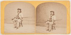 [Buffalo Bill] One of the Earliest Views of William F. Cody