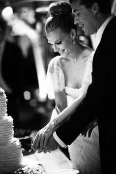 Photography by Gia Canali / giacanali.com | black and white wedding photography
