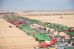 Guinness World Recording Breaking Harvest For Kids event, Oct. 6, 2012