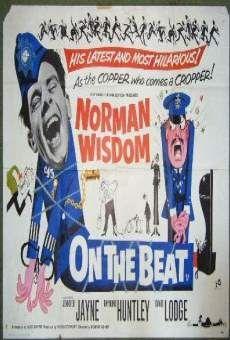 - ''On the Beat'' - Norman Wisdom, Jennifer Jayne, Raymond Huntley Talking Pictures TV British Comedy Movies, Irish Movies, Best Movie Posters, Film Posters, Tim Movie, Norman Wisdom, 60s Films, English Comedy, World Movies