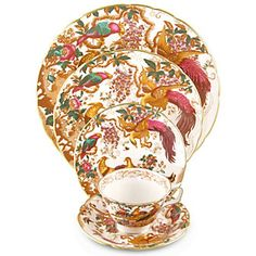 Shop Royal Crown Derby Old Avesbury Dinnerware - Borsheims.com