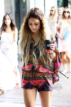coachella vanessa hudgens outfits - Google Search