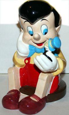 Disney's Pinocchio Treasure Craft Cookie Jar