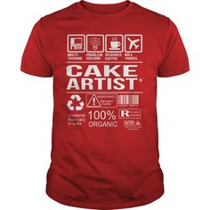 nice   Awesome Tee For Cake Artist -  Shirts Today