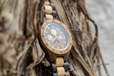 Ipogeo WoodMoon Orologio in legno - Wooden Watches - Watch made of wood.
